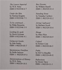pamphlet poets list1